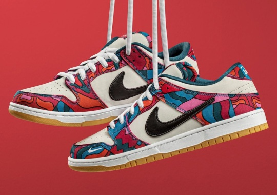 The Parra x Nike SB Dunk Low Releases Tomorrow