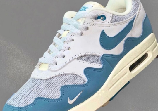 """Patta's AM2-Inspired Nike Air Max 1 Collab To Release In """"Noise Aqua"""""""