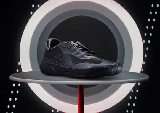 "The Prada x adidas Luna Rossa 21 ""Core Black"" Arrives On July 19th"