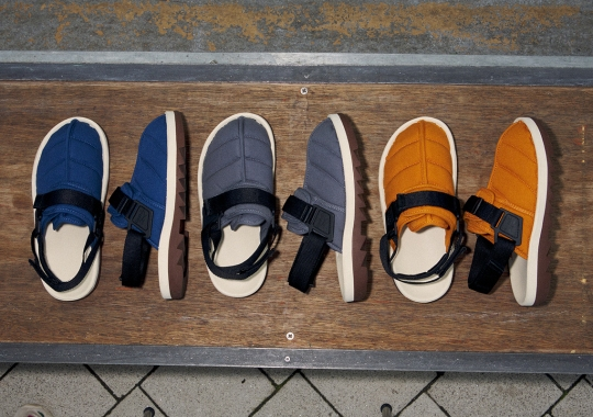 """The Reebok Beatnik """"Quilted Canvas"""" Pack Is Inspired By Quilted Outdoor Parkas"""