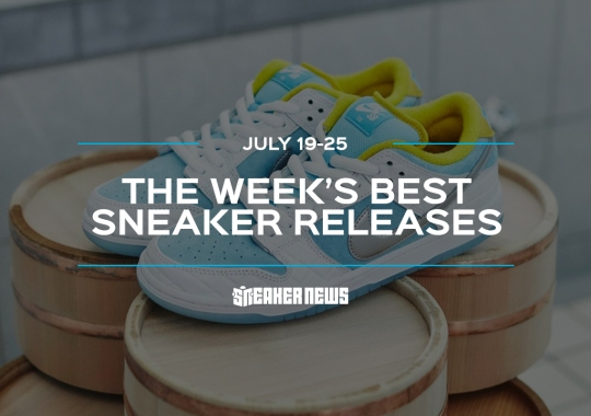"""The AJ12 """"Twist"""" And FTC x Nike SB Dunk Low Headline This Week's Top Releases"""