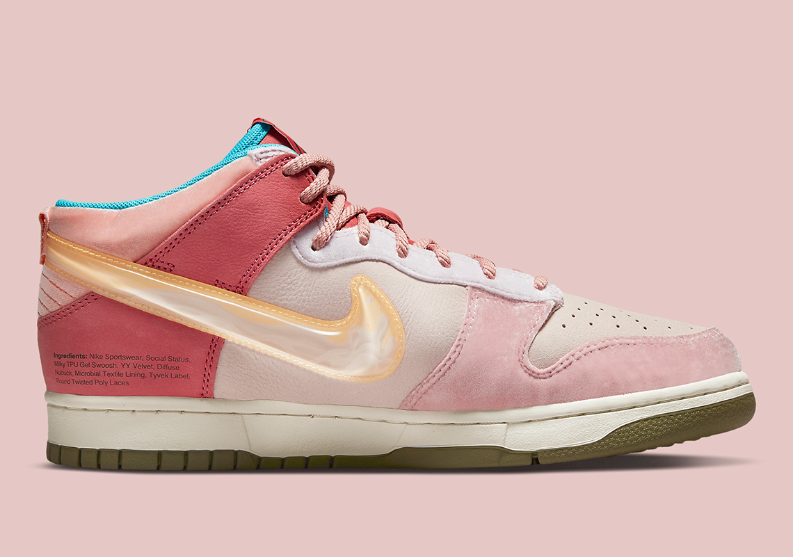 Social Status Nike Dunk Mid DJ1173 600 4