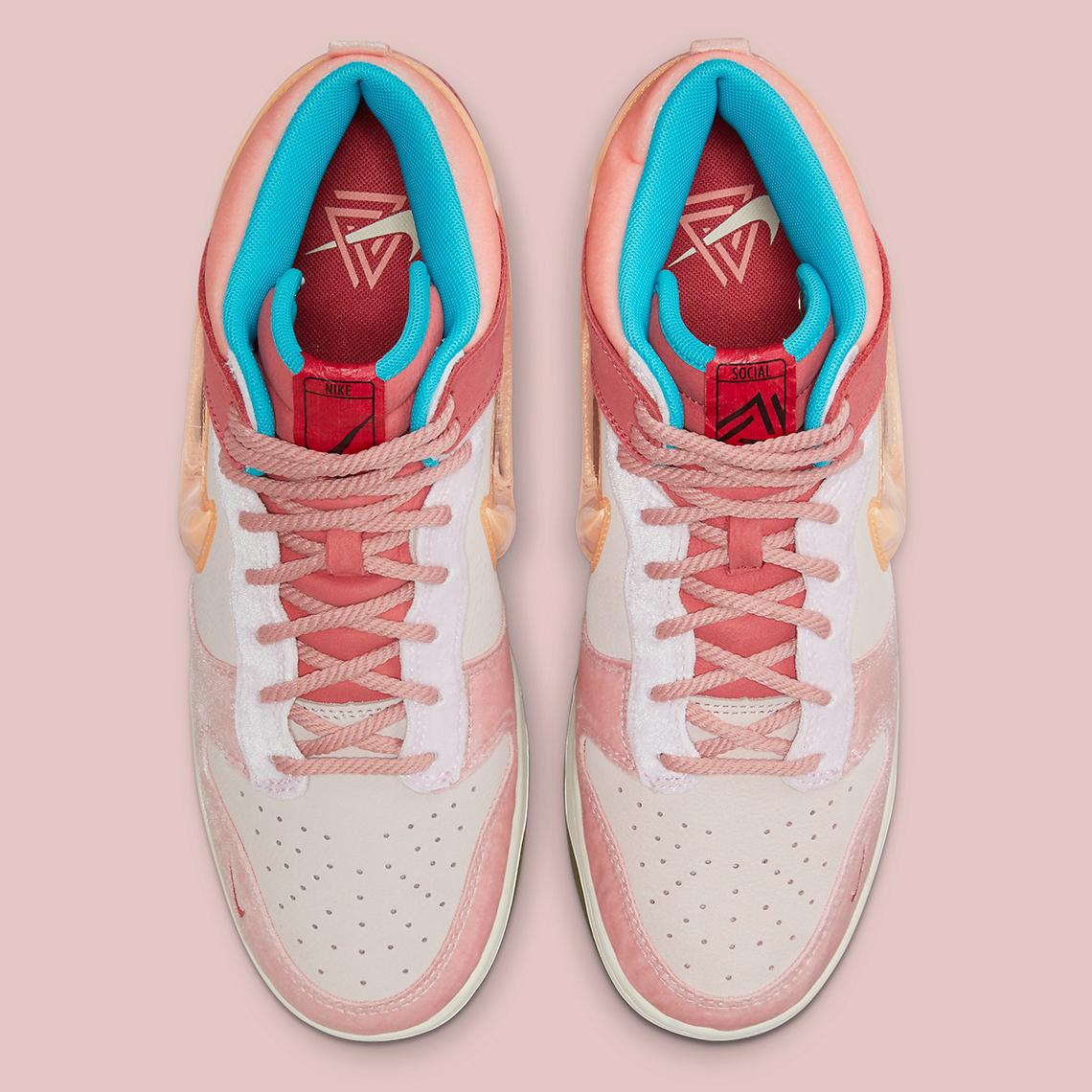 Social Status Nike Dunk Mid DJ1173 600 6