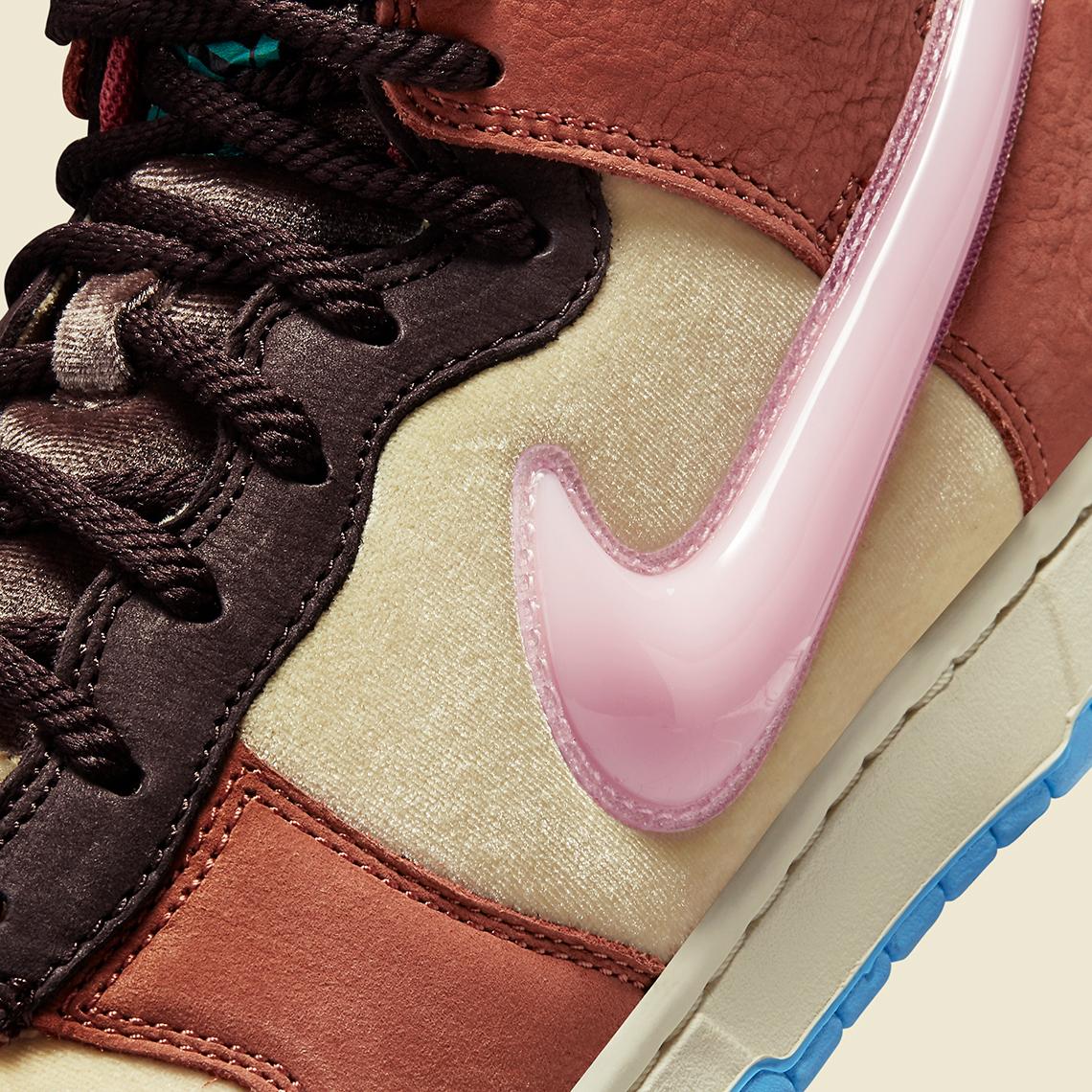 Social Status Nike Dunk Mid DJ1173 700 11
