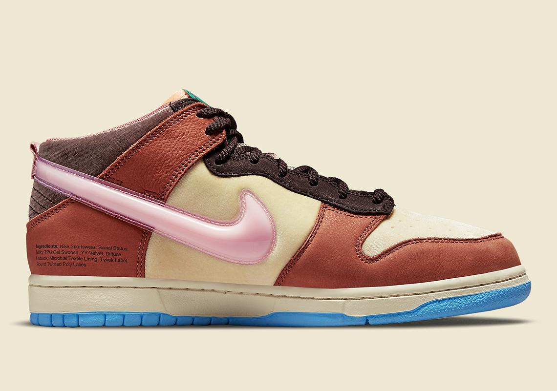 Social Status Nike Dunk Mid DJ1173 700 5
