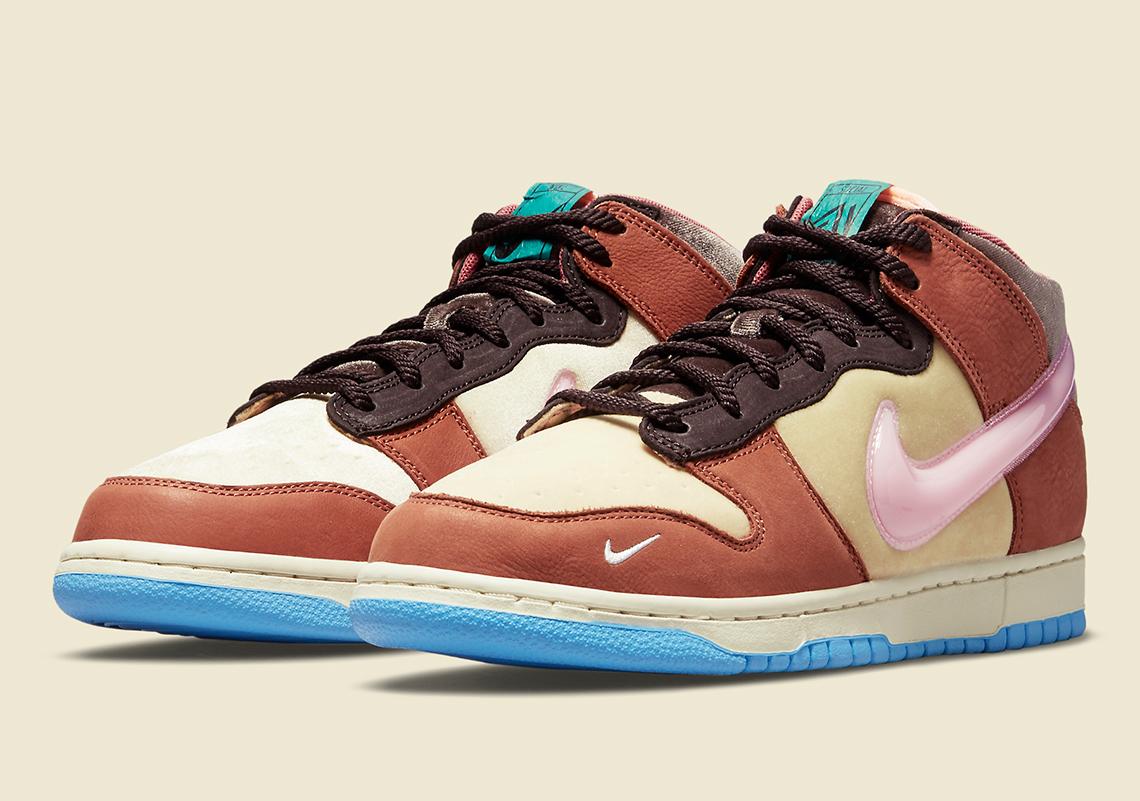 Social Status Nike Dunk Mid DJ1173 700 6