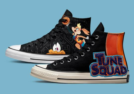 Both The Converse Chuck 70 And Standard Chuck Taylor Celebrate Space Jam: A New Legacy