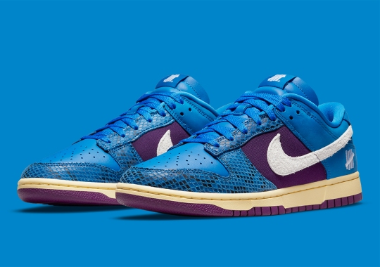"""UNDEFEATED's """"Dunk vs. AF-1"""" Collection Grows With This Snakeskin-Dressed Dunk Low"""