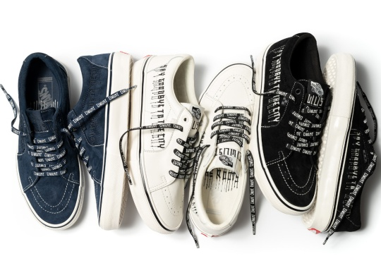 """Civilist And Vans Go """"Back To The Roots"""" With New Sk8-Low Collection"""