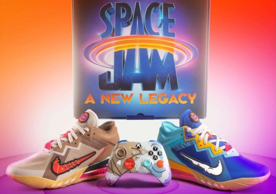 """Xbox And Nike To Release A """"Space Jam: A New Legacy"""" Bundle Featuring The LeBron 18 Low"""