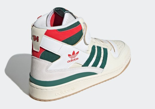adidas Forum '84 Hi Arriving Soon In Green And Red