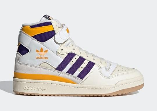 "adidas Forum '84 Hi ""Lakers"" Dropping Soon"
