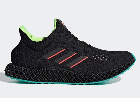 The adidas FUTURECRAFT 4D Shines A Neon Spotlight On Its Accents
