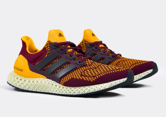 """More NCAA Colorways Land On The adidas Ultra 4D """"Arizona State"""""""