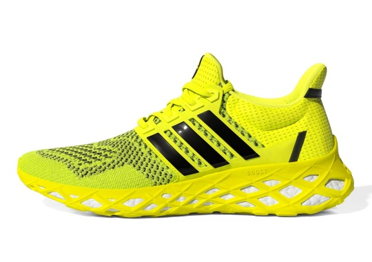 The adidas UltraBOOST DNA Web Encases The Outsole With A Durable Rubber Frame