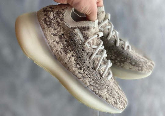 """Best Look Yet At The adidas YEEZY BOOST 380 """"Stone Salt"""""""