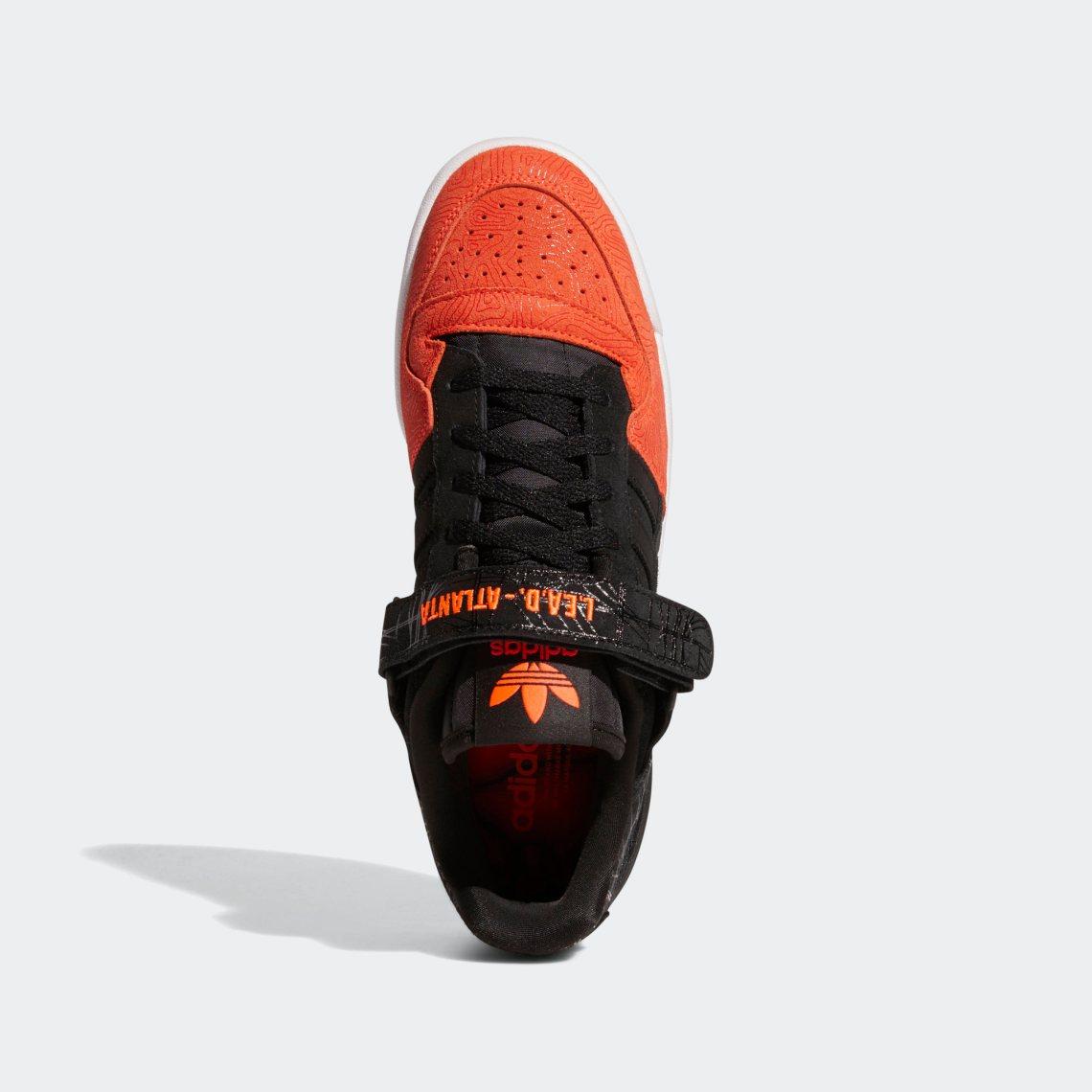 adidas forum lo l e a d atlanta core black core black vivid red GZ6604 3