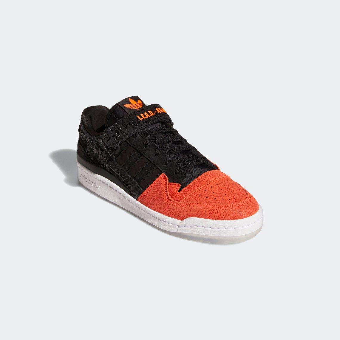 adidas forum lo l e a d atlanta core black core black vivid red GZ6604 5