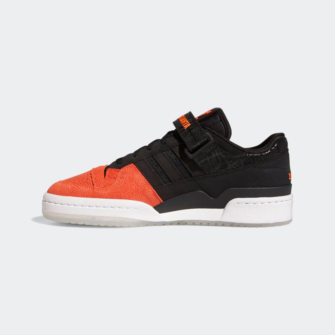adidas forum lo l e a d atlanta core black core black vivid red GZ6604 7
