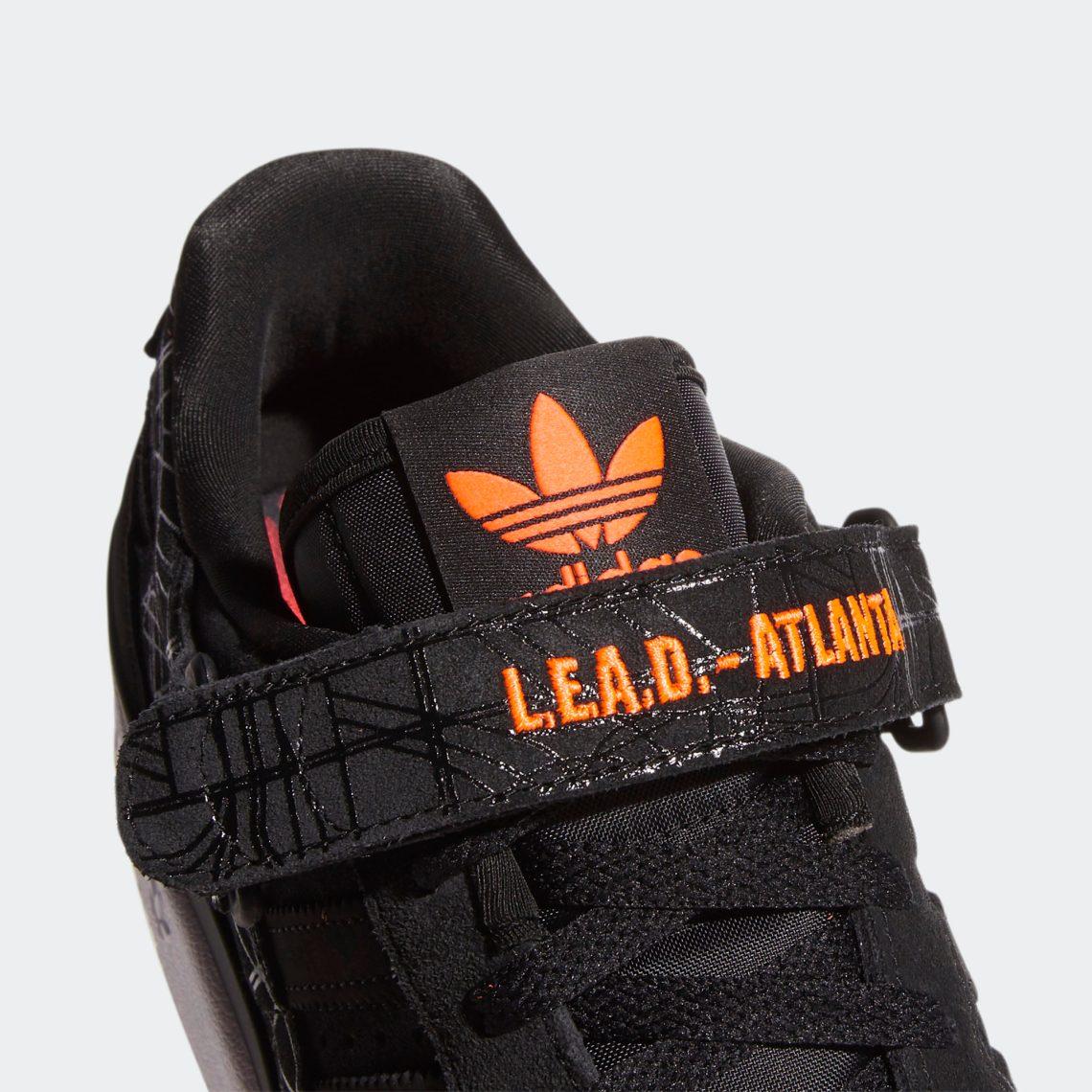adidas forum lo l e a d atlanta core black core black vivid red GZ6604 8