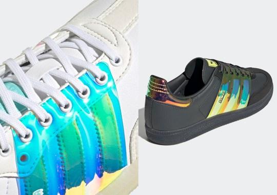 Lenticular Overlays Appear On This Set Of adidas Samba OGs