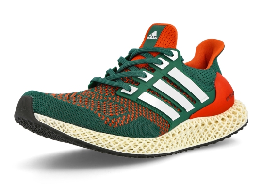"""adidas Brings College PE Colors To The Ultra 4D """"Miami"""""""