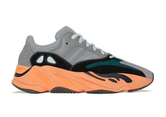 """The adidas Yeezy Boost 700 """"Wash Orange"""" Lightly Tweaks The """"Wave Runner"""" Colorway"""