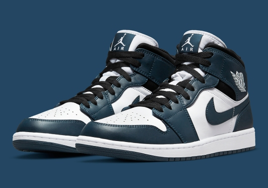 A New Blue Shade Appears On This Upcoming Air Jordan 1 Mid