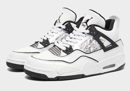 "The ""DIY"" Look Appears On The Air Jordan 4 For Kids"