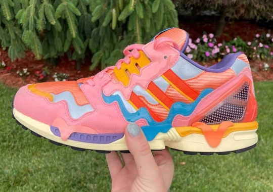 adidas Melts Ice Cream Over The ZX 8000
