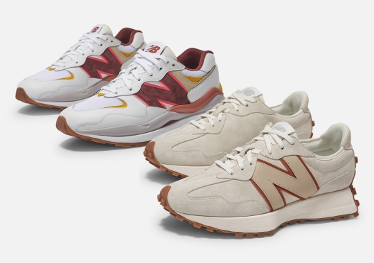 """New Balance And Bandier's """"Move Her World"""" Includes A New Balance 327 And 57/40"""