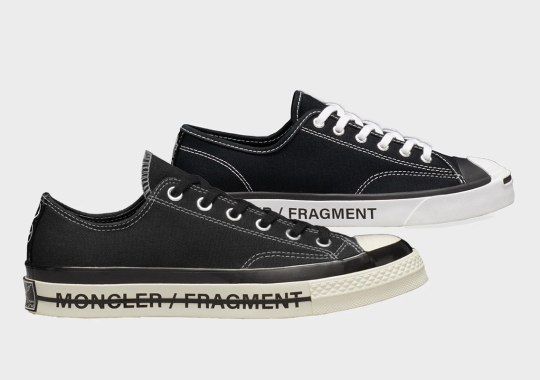 fragment Design and Moncler's Converse Capsule Is Ready To Launch In Mid-July