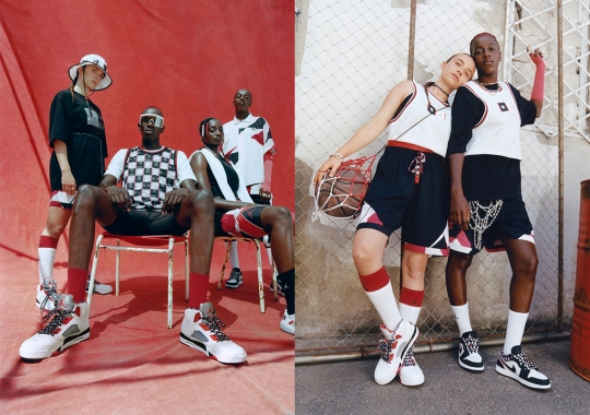 The Jordan Quai 54 2021 Collection Blends Modern West African Patterns With Parisian Flair