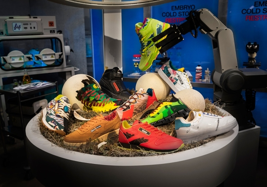 Jurassic Park And Reebok Unleash A Massive Footwear Capsule Inspired By Original 1993 Film