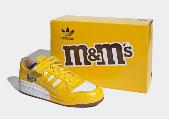 M&M's Sweet adidas Forum Low Collection Is On The Way