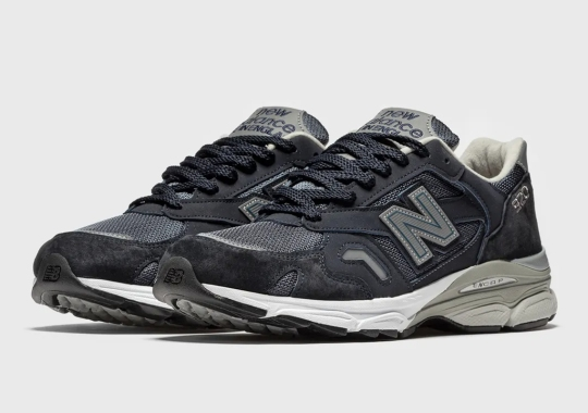A Navy And Grey New Balance 920 Made In UK Just Dropped