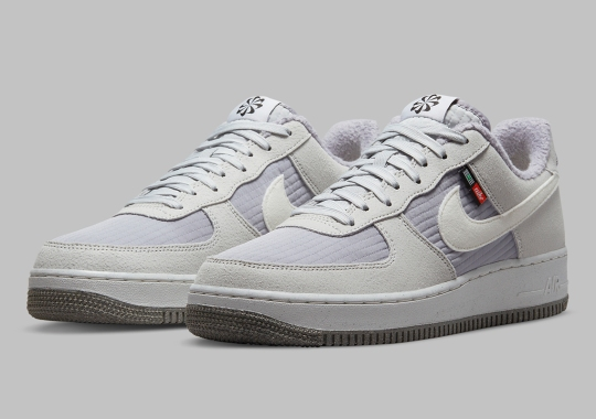 """Drab Greys Cover The Nike Air Force 1 Low """"Toasty"""""""