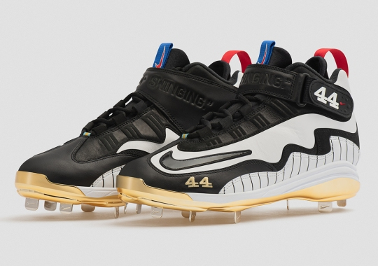Nike Honors The Legacy Of Hank Aaron With Air Griffey Metal Cleats For 2021 All-Star