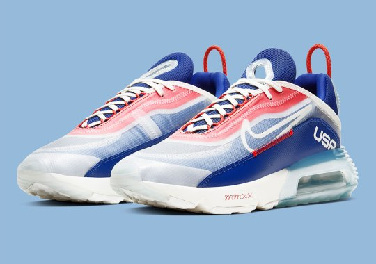 This Nike Air Max 2090 Is Cheering For Team USA