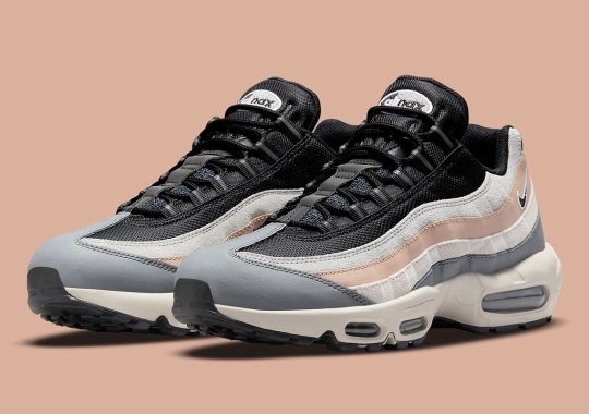 Tan And Grey Hues Emphasize Neutral Tones On The Nike Air Max 95