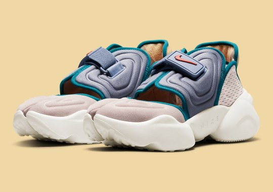 """Earth Meets Water With This """"Fossil Stone"""" And """"Ash Slate"""" Nike Aqua Rift"""
