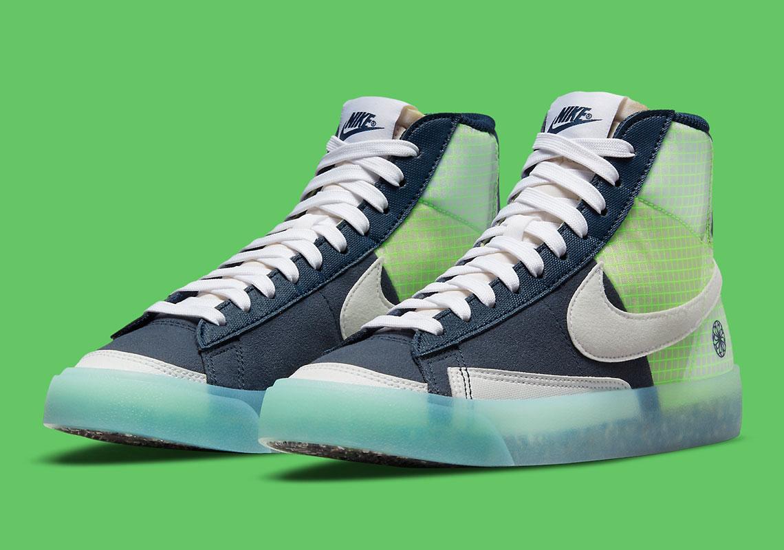 Nike Blazer Mid '77 GS Move To Zero DO2699-400 - Crumpe