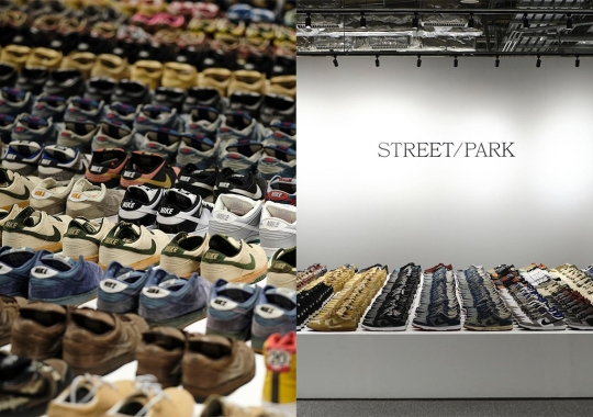 An Insane Nike Dunk Exhibit Displayed At K11 STREET/PARK In Hong Kong