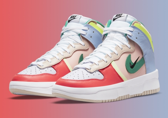 Nike Applies A Bold Transformation To The Dunk High Rebel