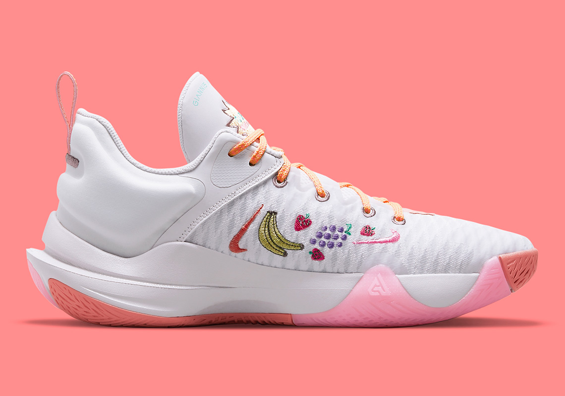 nike giannis immortality force field venice crimson bliss melon tint light mulberry DH4470 500 5