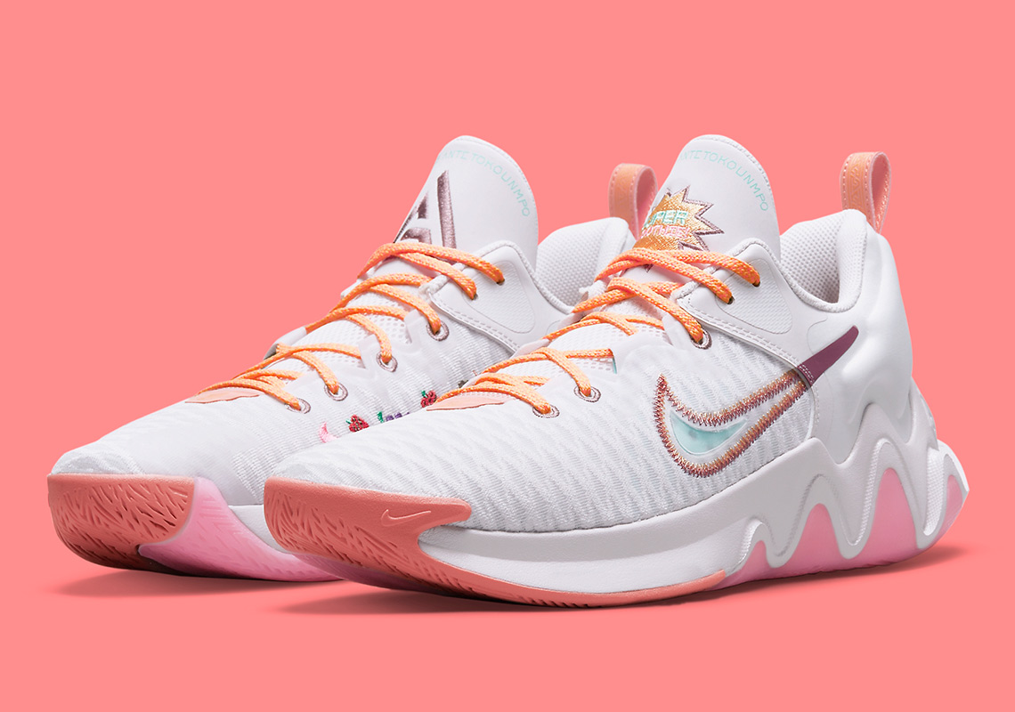 nike giannis immortality force field venice crimson bliss melon tint light mulberry DH4470 500 7