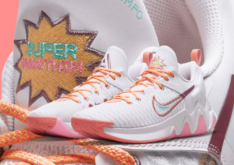 nike giannis immortality force field venice crimson bliss melon tint light mulberry DH4470 500