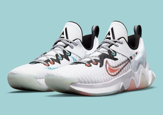 Chrome-Like Gradients And A Translucent Outsole Launch The Nike Giannis Immortality Into Another Dimension