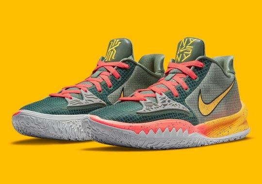 """The Nike Kyrie Low 4 """"Sunrise"""" Celebrates The Annual NY vs. NY Hoops Energy"""