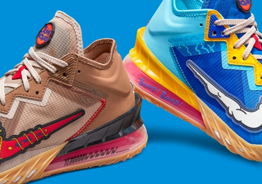 Wile E. Coyote And Roadrunner Continue The Chase On The Nike LeBron 18 Low